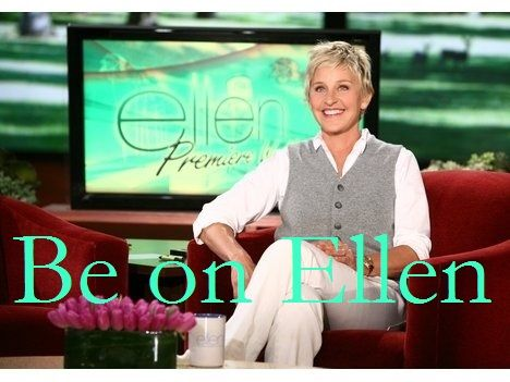 Bucket list: Be on Ellen, dance with Ellen