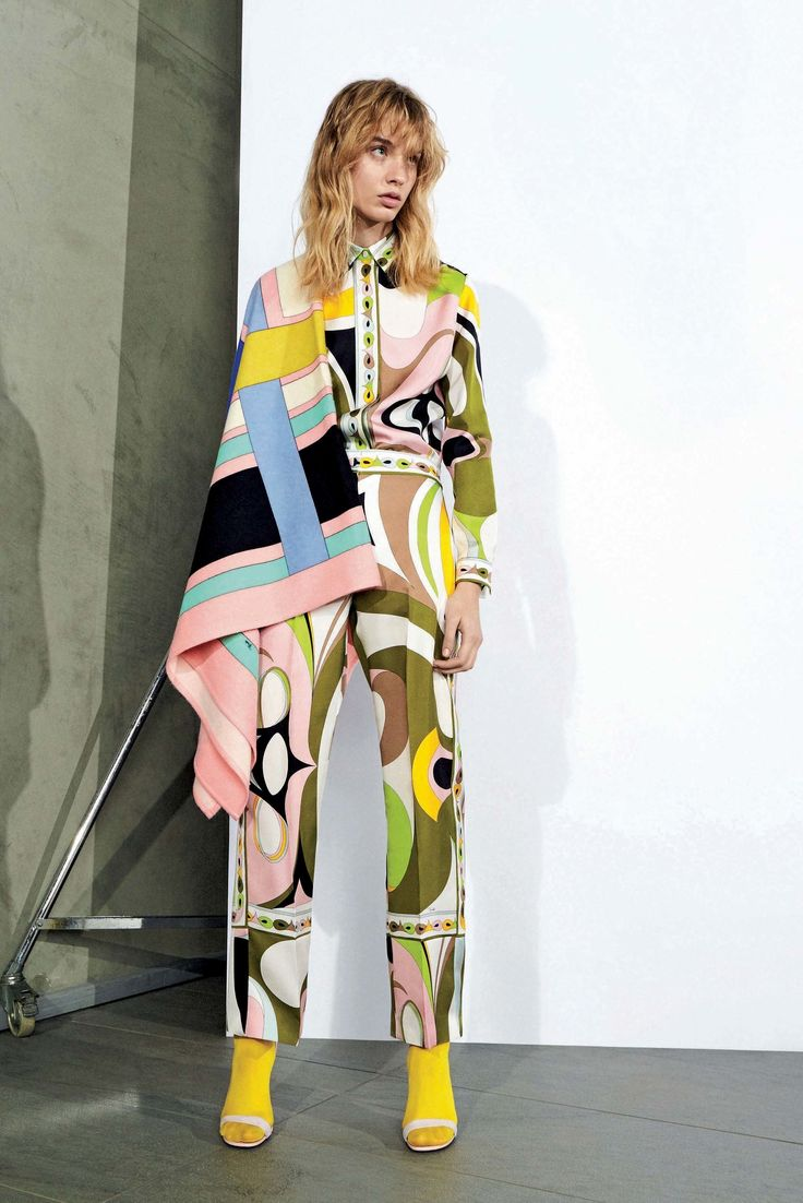 Emilio Pucci Pre-Fall 2017 Collection Photos - Vogue