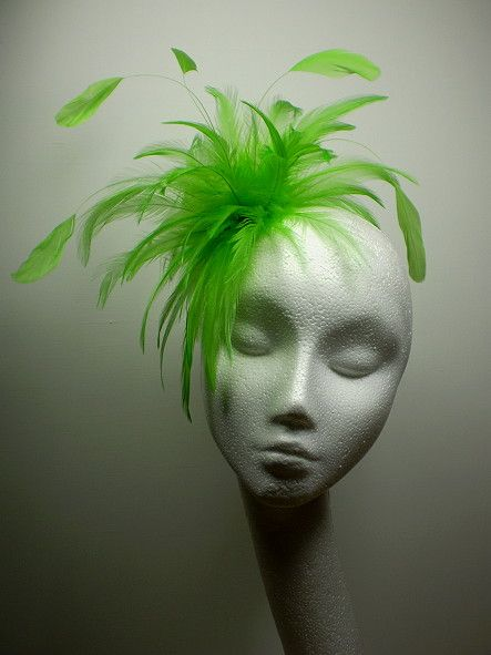 Well, Im not sure how but Im going to try and make a fascinator in lieu of an Easter bonnet.  Not this color, but wish me luck!