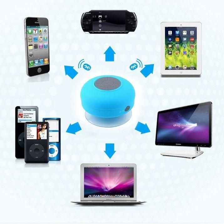 Беспроводной Водонепроницаемый Динамик Bluetooth Портативные Беспроводные Портативные Мобильные Колонки
