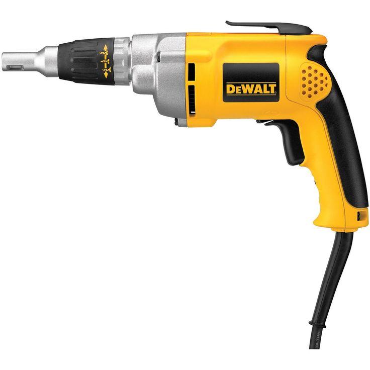 DEWALT DW276 6.5-Amp Variable-Speed Reversing Drywall Screwdriver - Power Screw Guns - Amazon.com