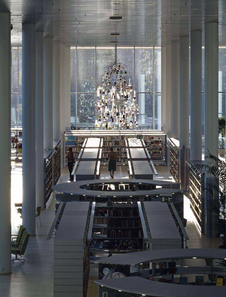 Halmstad Library by schmidt / hammer / lassen architects