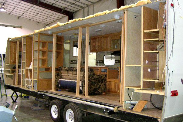 rv that need repairs | Side Wall and Structural | Custom RV Remodeling & Repair @ Truline RV