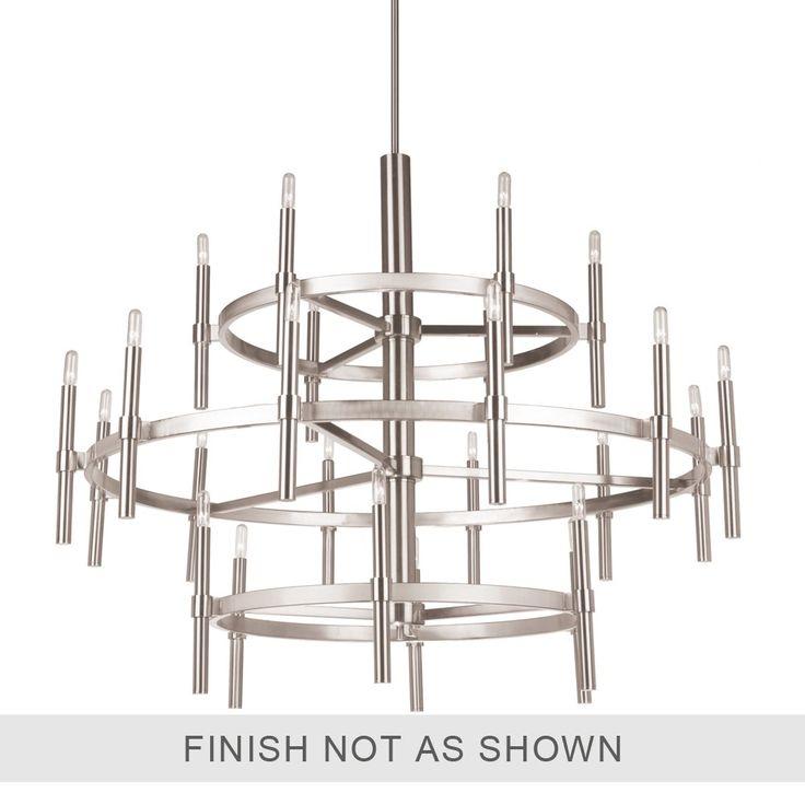 AC10664OB Encore 24 Light  Oil Rubbed Bronze Chandelier Royaume du luminaire 1348$
