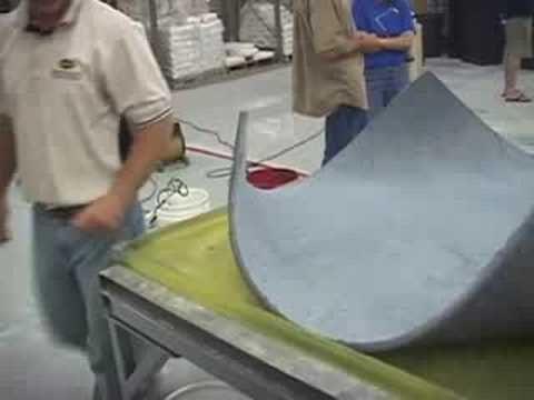 Bending Concrete into Furniture - Surecrete's Xtreme C-Top