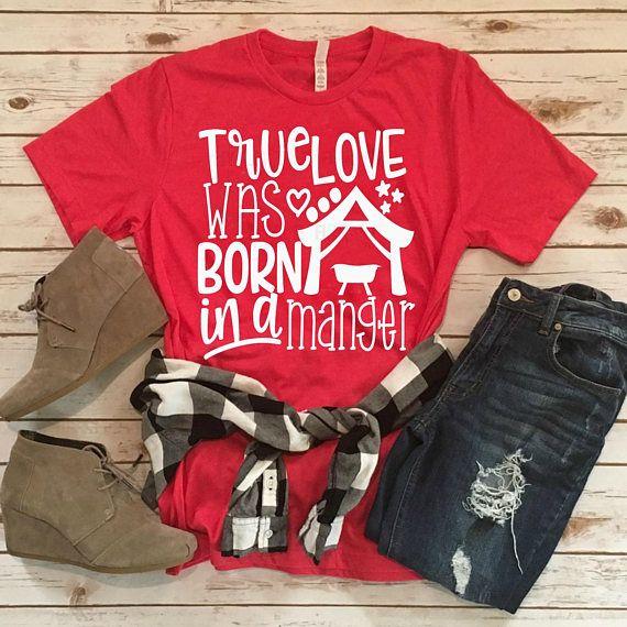 Download True love was born in a manger svg | manger svg | nativity ...