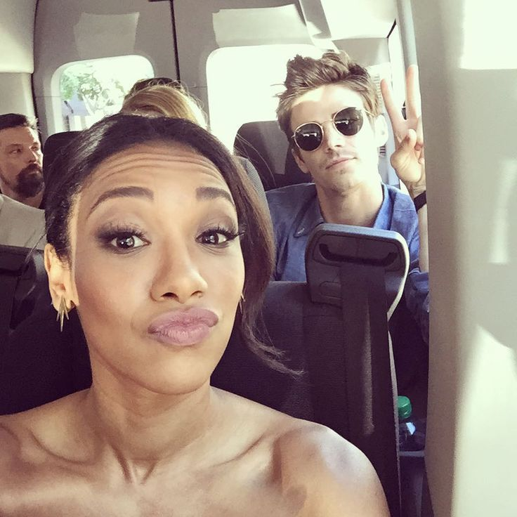 """Candice Patton on Instagram: """"Swear I'm not naked. @comic_con"""""""