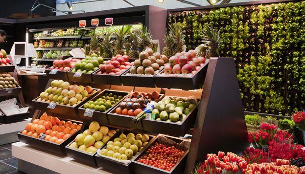 fruteria del Mercado de San Antón