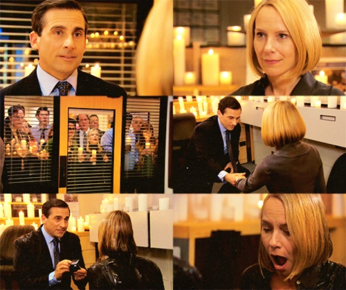 Sure Jim & Pam are great. But I want a love like Michael & Holly's. <3