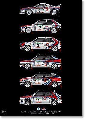 80s Lancia Group B
