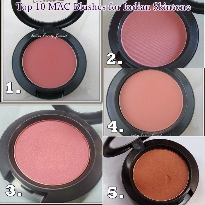 Top 10 Mac Blushes for Indian Skintone. I am big MAC Blushes junkie and I have hoarded collected quite a few universal flattering blush shades which will suit all skin tones. So, here is a quick compilation of my Top 10 Mac Blushes for Indian Skintone