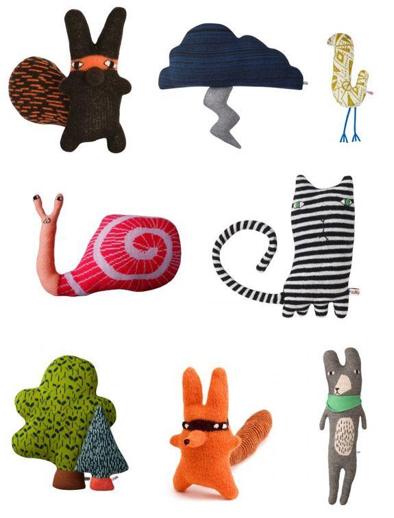 http://donnawilson.com/  these plush creatures are the cutesttttt.