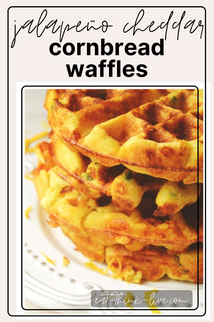 Jalapeno Cheddar Waffles Recipe In 2020 Waffles Cheddar Jalapeno Cheddar