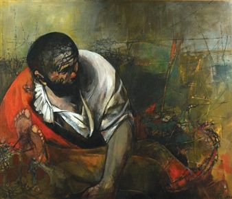 After Caravaggio By Ruth Schloss ,1997