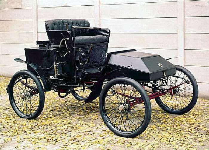 Steam Car | Foster steam car, 1901. #Antiques