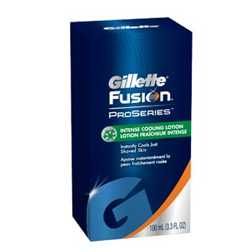 Gilette Fusion 30972 Fusion ProSeries cooling lotion