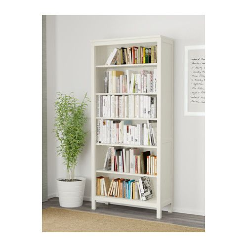 HEMNES Bookcase IKEA Solid wood has a natural feel. The shelves are adjustable so you can customize your storage as needed.