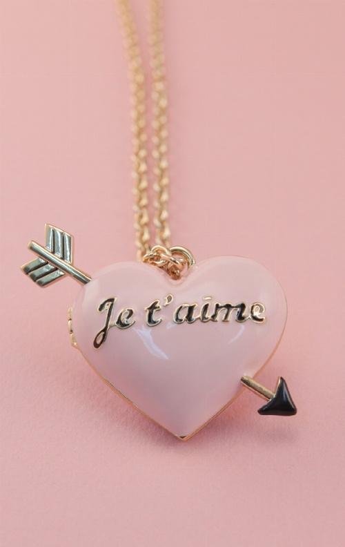 HEART LOCKET NECKLACE ~ Wildfox Loves You❣    #wildfoxukvalentine ❥
