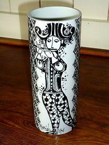 Bjorn Wiinblad Retro Vase