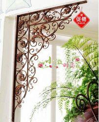 Tieyi muons door angle rack wrought iron door muons corner bracket decoration window grilles gate flower(China (Mainland))
