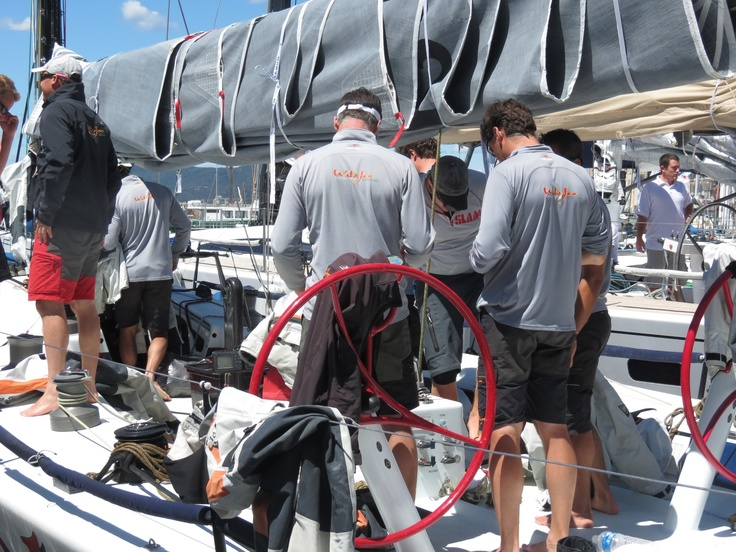 GIRAGLIA ROLEX CUP 2012 - Photos of the arrival to Saint Tropez.