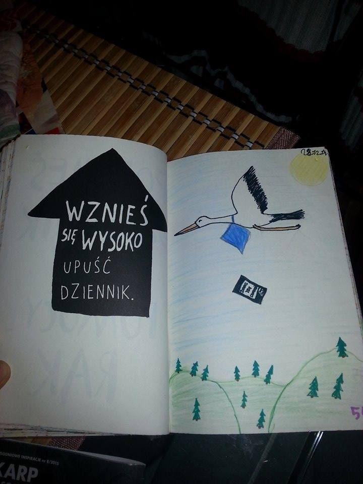 Podesłała Aga Brachman #zniszcztendziennikwszedzie #zniszcztendziennik #kerismith #wreckthisjournal #book #ksiazka #KreatywnaDestrukcja #DIY