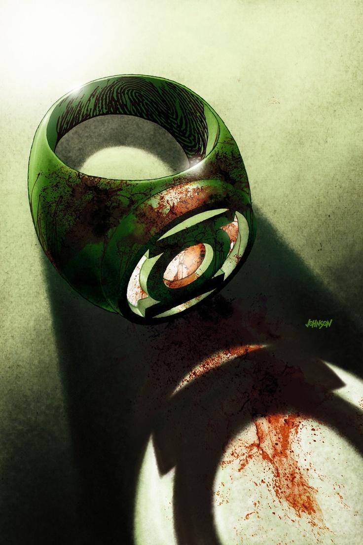 Coolest Green Lantern art ever!!!!