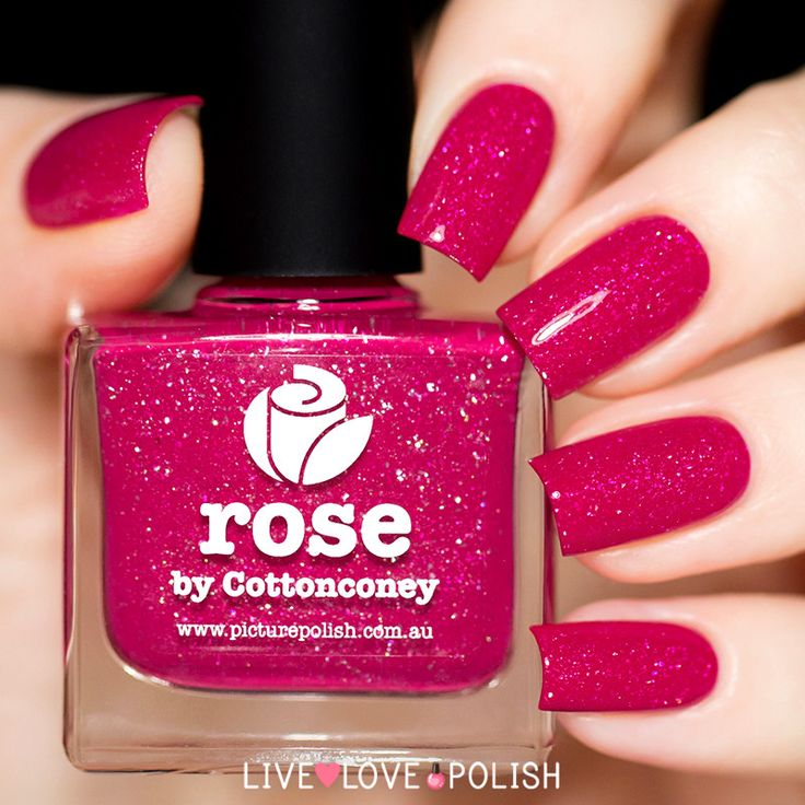 Picture Polish Rose Nail Polish