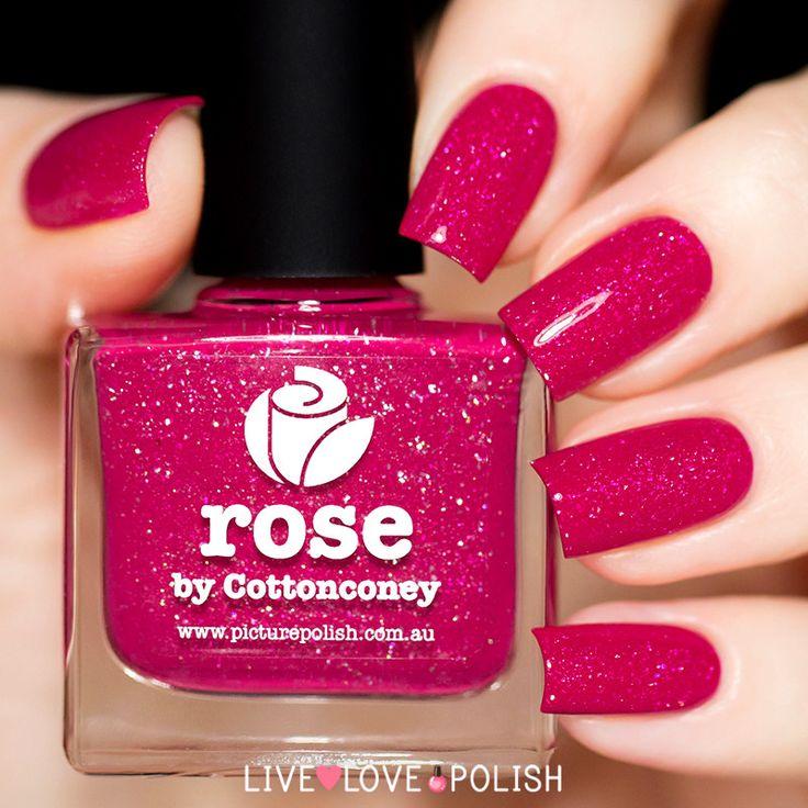 Picture Polish Rose Nail Polish (PRE-ORDER SHIP DATE 06/22/16)