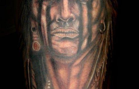 tribal cherokee indian tattoos