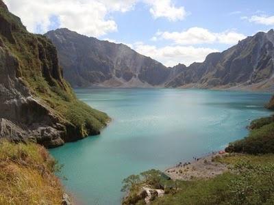 Lake Pinatubo or Lawa ng Pinatubo is the crater lake of Mount Pinatubo in the boundaries of Pampanga.