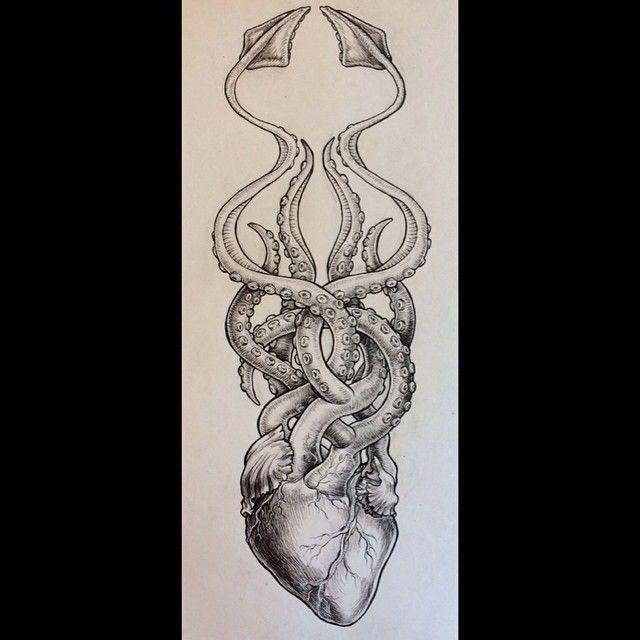 analynakat's photo on Instagram octopus heart