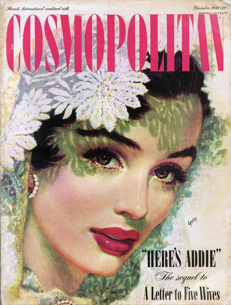 Cosmopolitan: December 1949 - a photo on Flickriver
