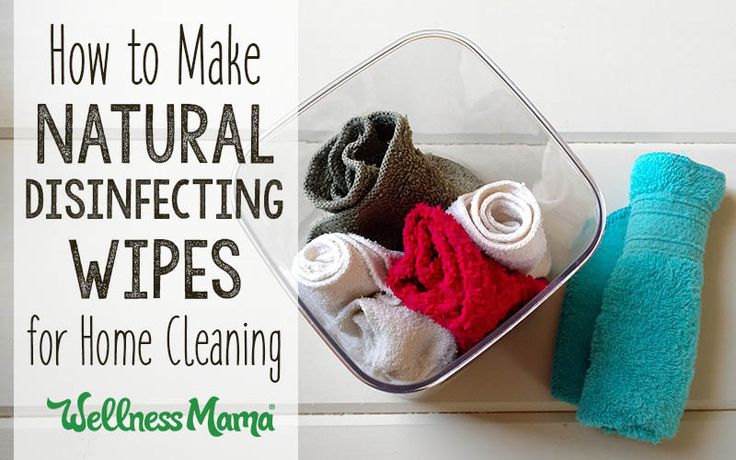 Made the switch to nontoxic cleaning products and need a substitute for Lysol? Try these easy to make disinfecting wipes with natural cleaning power!