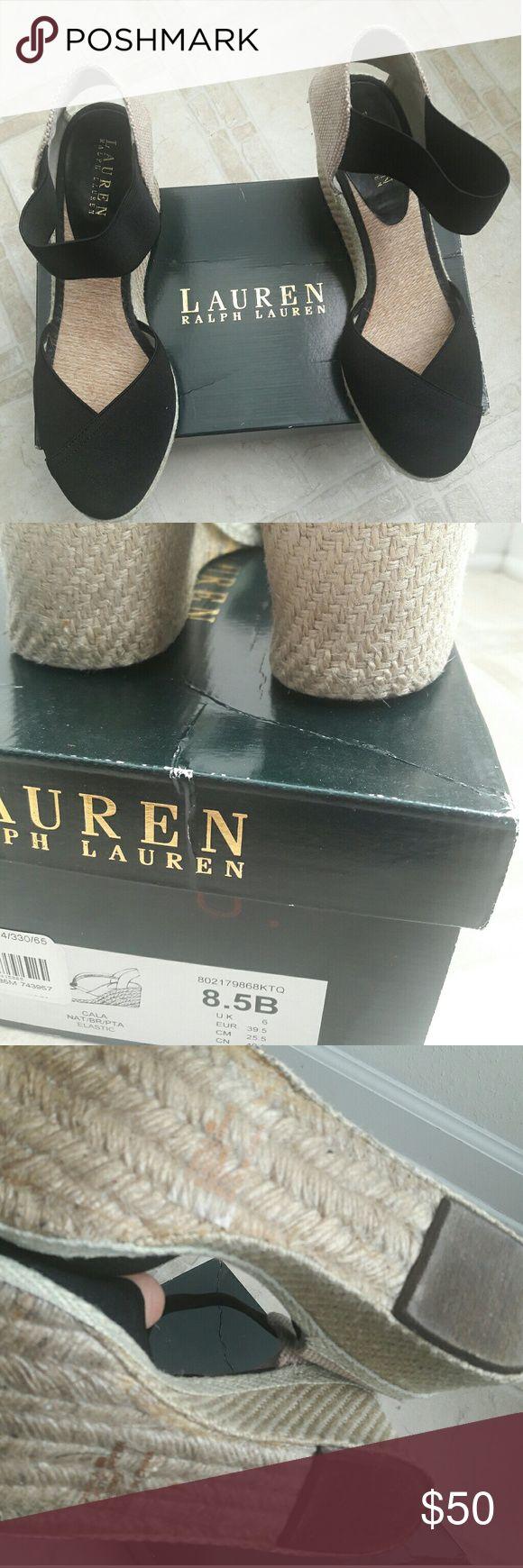 Ralph Lauren espadrilles shoe Never used with box. Ralph Lauren Shoes Espadrilles