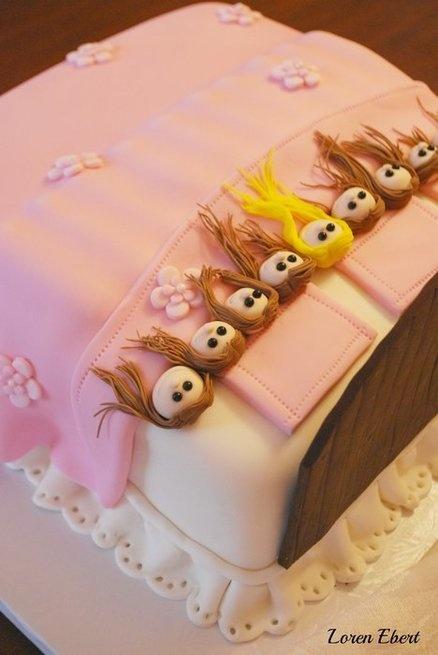 Slumber Party Cake!  Cake by TheBakingSheet