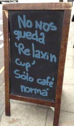 """""""Relaxin cup"""": Relaxing Cup, Cups, Café Con, Relaxin Cup, De Humor, De Relaxing, Humor, Photo"""