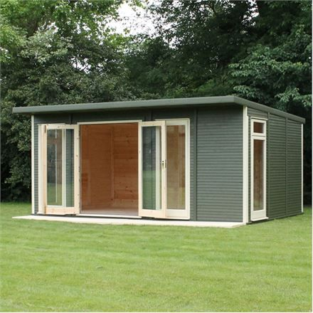 5m x 3m waltons insulated garden room free installation