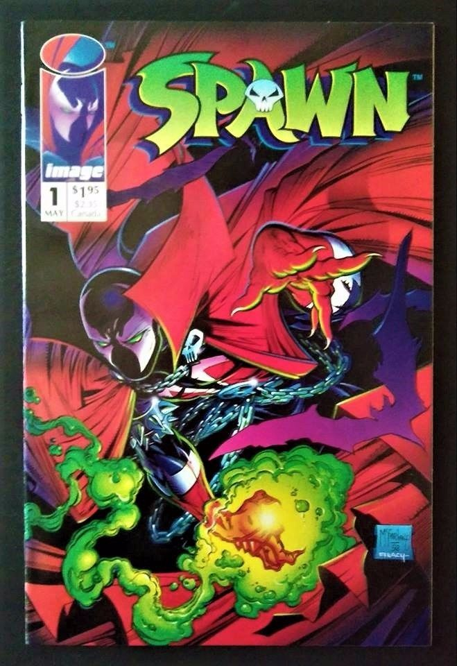 Spawn #1 (May 1992, Image)