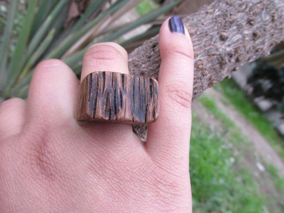 Wooden ring  by Molinart by Molinart on Etsy, $28.00