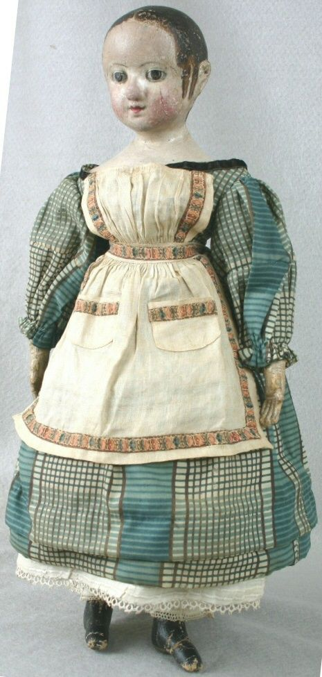 Izannah Walker Doll, WI Historical Museum; c. 1855-65