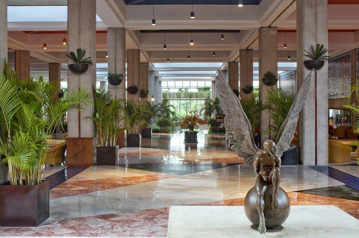 The lobby at the Melia Puerto Vallarta.