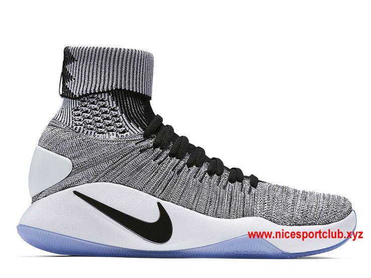 Chaussures De BasketBall Nike Hyperdunk 2016 Flyknit Oreo Prix Homme Pas Cher…