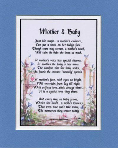 Mother And Baby | Touching Quotes, Lovely Poems ...