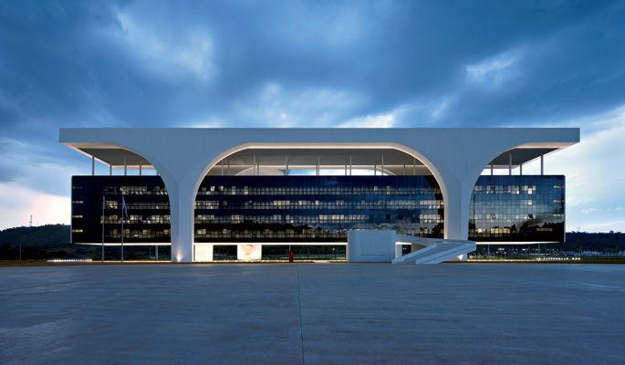 Palácio Tiradentes. Oscar Niemeyer/ Belo Horizonte