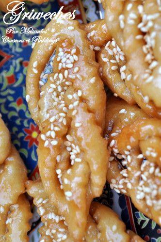 griweches ou chabakia au miel