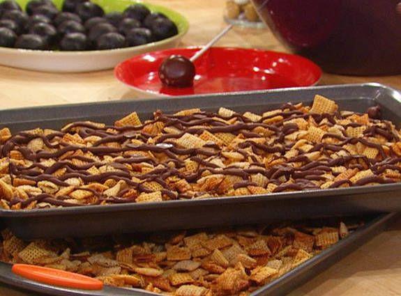 Chex Caramel Chocolate Drizzles Recipe