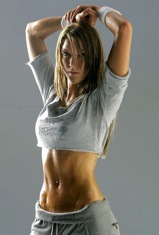 Fitness Motivation site to get in shape. This woman's stomach is to die for