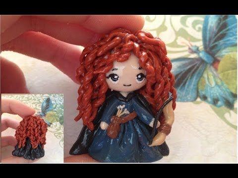 Disney Merida Brave polymer clay tutorial