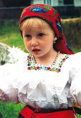 Romanian traditional costume.